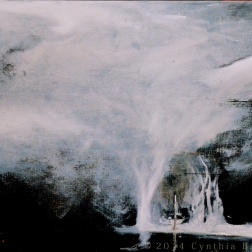 Gate of Styx (2014) Oil on panel
