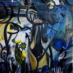 Destruction of Fantasia (2014) Oil on canvas