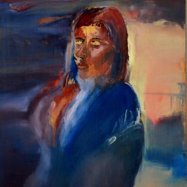 Femme Eternelle (2013) Oil on panel