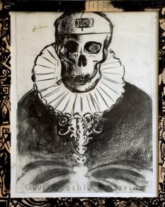 Portrait d'un Homme Malade (2013) Charcoal on paper