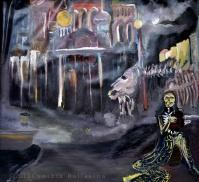 The Storyteller of St.Petersburg (2013) Oil on canvas