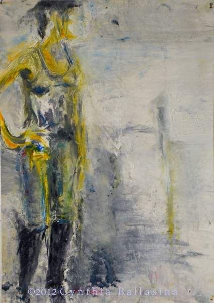 Modelstudy A. (2012) Oil on paper
