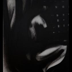 Nachtschim (2015) Spraypaint on canvas