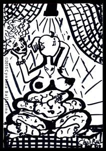 NARSISKA (2015) Marker on paper
