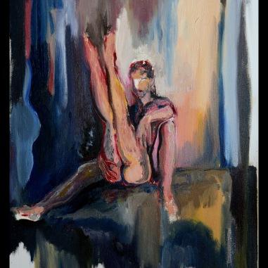 Démon (2014) Oil on canvas