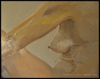 Femme Nude (2012) oil on canvas